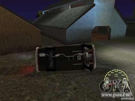 VAZ 2101 restauré pour GTA San Andreas vue de côté