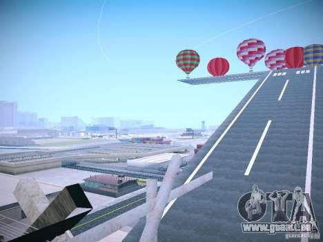 La possibilité de remplacer le timecyc dans SA:  pour GTA San Andreas quatrième écran