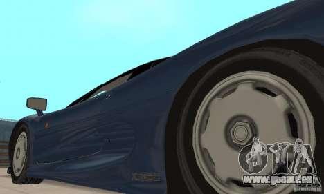 Jaguar XJ220 pour GTA San Andreas vue intérieure