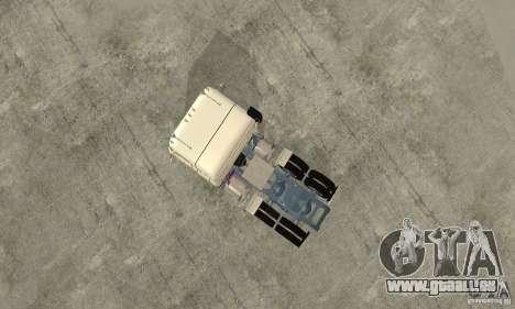 International Transtar II Custom 1975 für GTA San Andreas Rückansicht