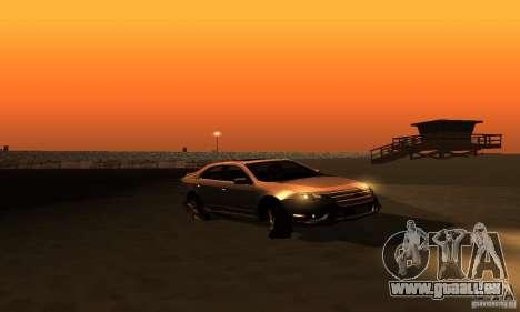Ford Fusion Sport für GTA San Andreas rechten Ansicht