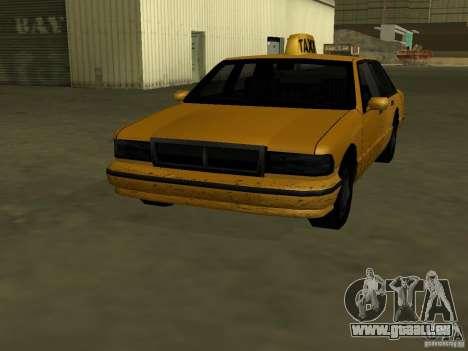 Realistische Textur des ursprünglichen Autos für GTA San Andreas zweiten Screenshot