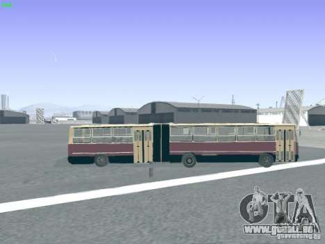 Remorque pour Ikarus 280.03 pour GTA San Andreas vue de côté