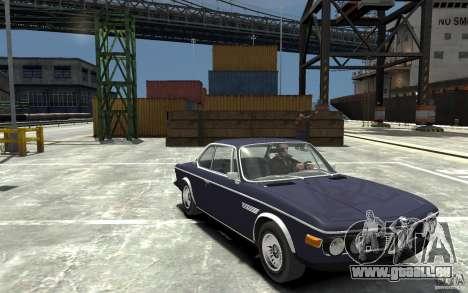 BMW 3.0 CSL E9 1971 pour GTA 4 Vue arrière
