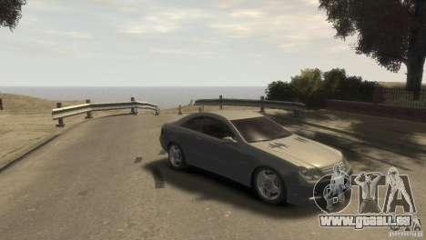 Mercedes-Benz CLK 63 AMG pour GTA 4 est un droit