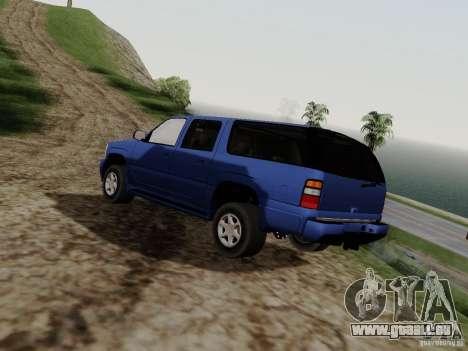 GMC Yukon Denali XL pour GTA San Andreas laissé vue