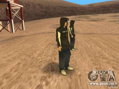 Ken Block Family für GTA San Andreas her Screenshot