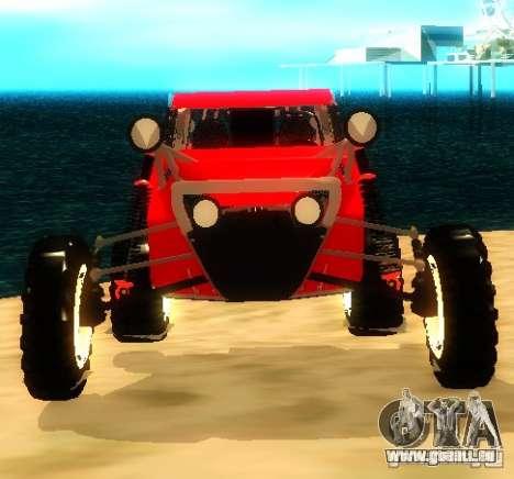 Buggy V8 4x4 pour GTA San Andreas vue de droite