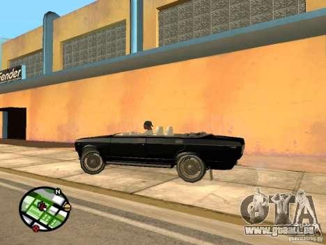 VAZ 2105 Gig v1. 3 für GTA San Andreas zurück linke Ansicht