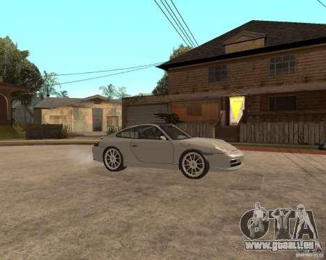 Porsche 911 TARGA für GTA San Andreas Rückansicht