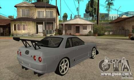 Nissan Skyline GT R R32 für GTA San Andreas rechten Ansicht
