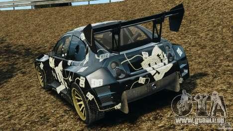 Colin McRae BFGoodrich Rallycross pour GTA 4 Vue arrière de la gauche