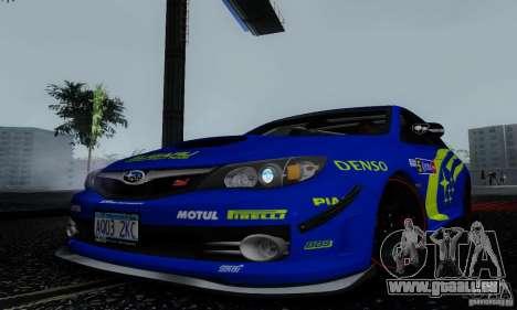 2008 Subaru Impreza Tuneable pour GTA San Andreas moteur