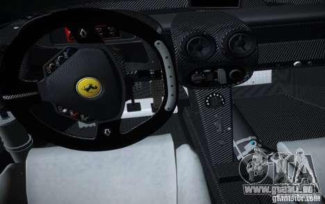 Ferrari FXX Evoluzione für GTA San Andreas rechten Ansicht