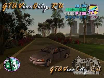 Opel Omega von GTA 3 für GTA Vice City