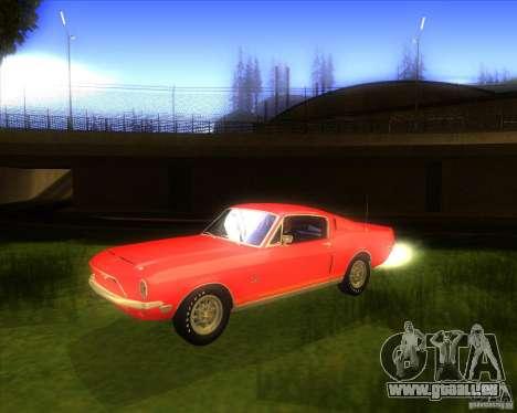Shelby GT500KR 1968 pour GTA San Andreas
