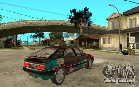 Citroen XM Custom pour GTA San Andreas vue de droite