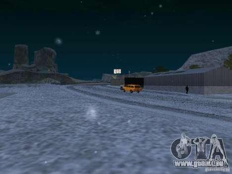 Neige pour GTA San Andreas neuvième écran