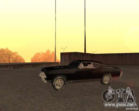 Chevrolet Chevelle 1968 für GTA San Andreas linke Ansicht