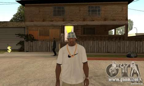 White Nike Shirt für GTA San Andreas