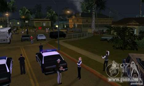 Projet x sur Grove Street pour GTA San Andreas deuxième écran