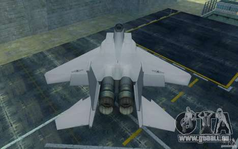 F-15 pour GTA San Andreas vue de droite