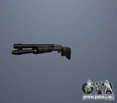 Pak hautes armes polygonales pour GTA San Andreas troisième écran