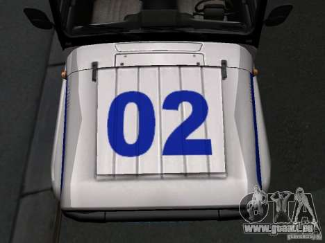 UAZ-315195 Hunter Polizei für GTA San Andreas Innenansicht