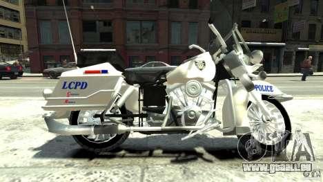 Police Bike pour GTA 4 est une gauche