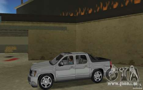 Chevrolet Avalanche 2007 für GTA Vice City linke Ansicht