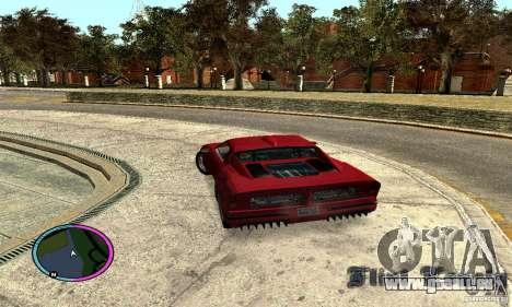 Axis Piranha Version II für GTA San Andreas linke Ansicht