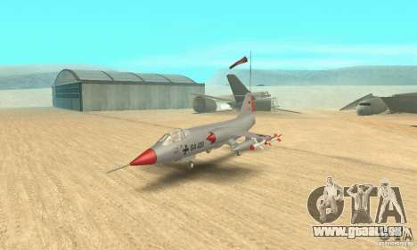 F-104 Starfighter Super (grau) für GTA San Andreas