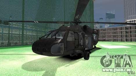 Sikorsky UH-60 Black Hawk für GTA 4 linke Ansicht