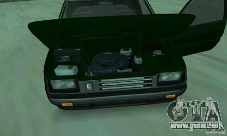 VAZ 1111 Oka für GTA San Andreas Innenansicht