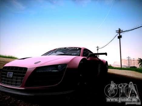 Audi R8 LMS v2.0 pour GTA San Andreas vue de droite