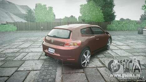 Volkswagen Scirocco 2.0 TSI pour GTA 4 est un côté