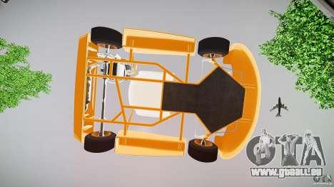 Karting pour GTA 4 vue de dessus
