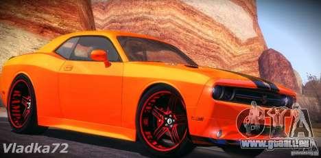 Dodge Quinton Rampage Jackson Challenger SRT8 v1 für GTA San Andreas