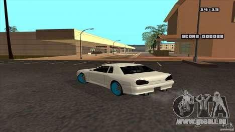 Drift Elegy by KaLaSh pour GTA San Andreas laissé vue