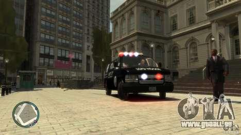 Noose Van V3 pour GTA 4 Vue arrière de la gauche