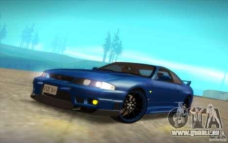 Nissan Skyline R33 GT-R V-Spec pour GTA San Andreas vue de dessus
