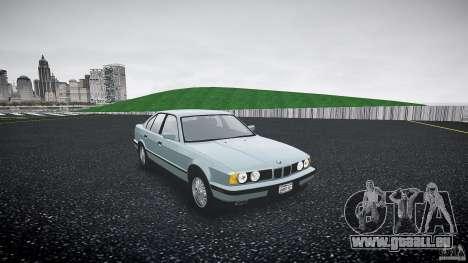 BMW 535i E34 für GTA 4 rechte Ansicht