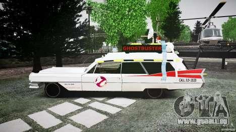 Cadillac Ghostbusters für GTA 4 linke Ansicht