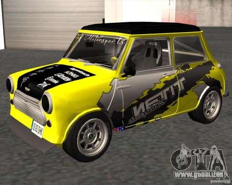 Mini Cooper S Titan Motorsports für GTA San Andreas