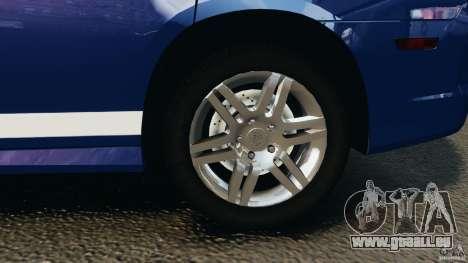 Dodge Charger Unmarked Police 2012 [ELS] pour GTA 4 vue de dessus