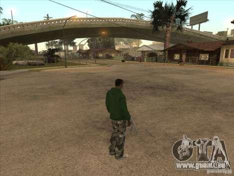 Se téléporter à un marqueur pour GTA San Andreas deuxième écran