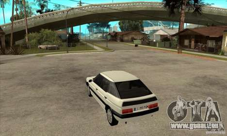 Citroen XM 1992 für GTA San Andreas zurück linke Ansicht
