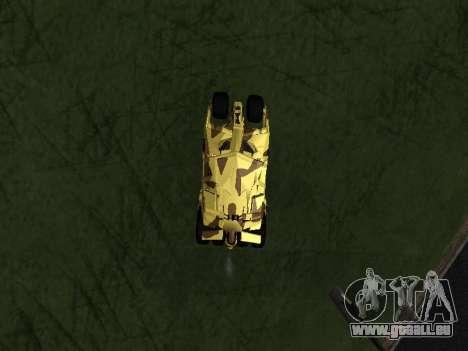 Army Tumbler v2.0 pour GTA San Andreas vue de droite
