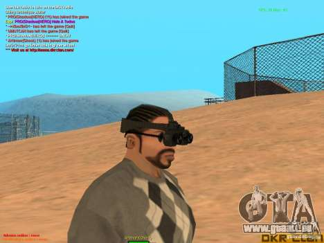 Thermal Goggles für GTA San Andreas zweiten Screenshot