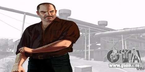 Écrans de démarrage de GTA IV v. 2.0 pour GTA San Andreas huitième écran
